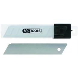 10 lames de cutter sécables de 18 mm