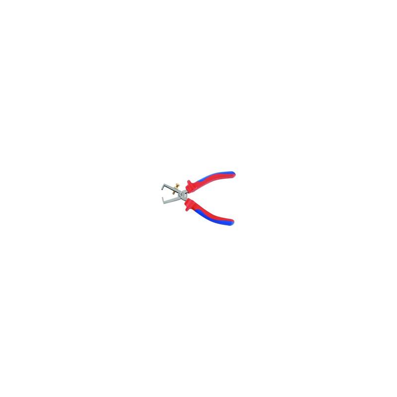 "Pince à dénuder ""isolée 1000V""  160 mm 6716A"