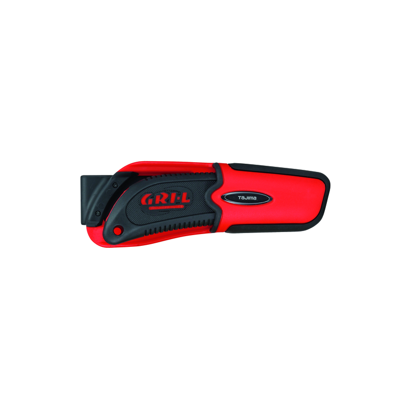 Cutter rouge a molette 18mm + fourreau