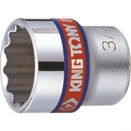 """Douille Pouce 3/8"""" (9,53mm) standard 12 pans 3300S"""