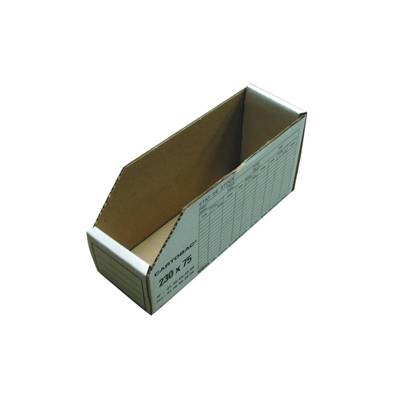 Boite de rangement carton 230x75mm
