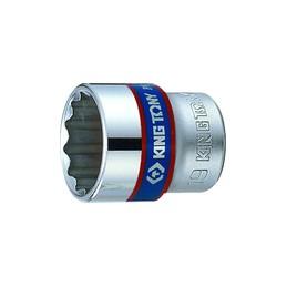 """Douille Métrique 3/8"""" (9,53mm) Standard 12 pans 3330M"""