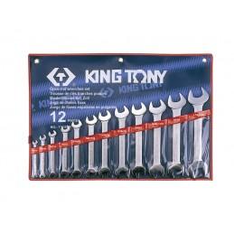 Trousse de clés fourches en pouces - 12 pièces