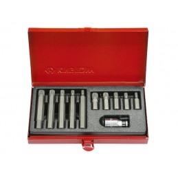 Coffret d'embouts tournevis XZN 10mm - 11 pièces