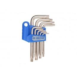 Jeu de clés mâles RESISTORX en étui - 9 pièces