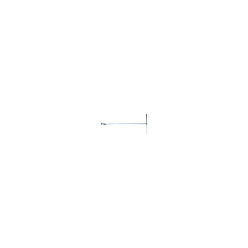 Clé en T douille incorporée Métrique   8 mm