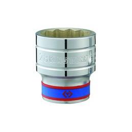 """Douille Métrique 1/2"""" (12,,7mm) Standard 26 mm"""