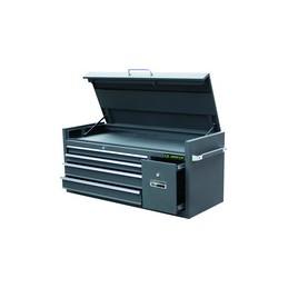 Coffre métallique  - 5 tiroirs avec soute supérieure