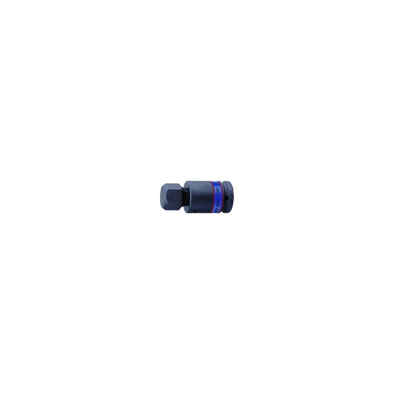 """Douilles Tournevis chocs 6 Pans  3/4"""" (19,,05mm)  19 mm"""