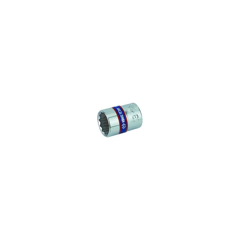 """Douille Métrique 1/4"""" (6,,35mm) Standard 9 mm"""
