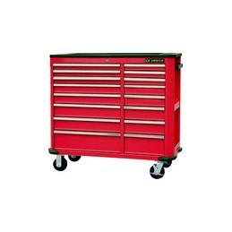 Etabli mobile d'atelier - 16 tiroirs