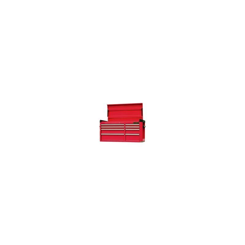 Coffre métallique  - 8 tiroirs avec soute supérieure