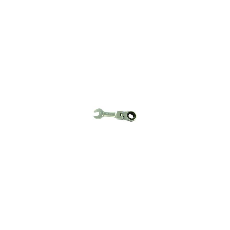Clé mixte à cliquet Métrique  courte 9 mm