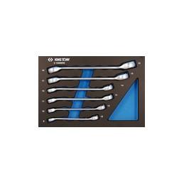 Plateau EVAWAVE de clés à tuyauter métriques - 6 pièces