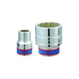 """Douille Métrique 3/4"""" (19,,05mm) Standard 24 mm"""