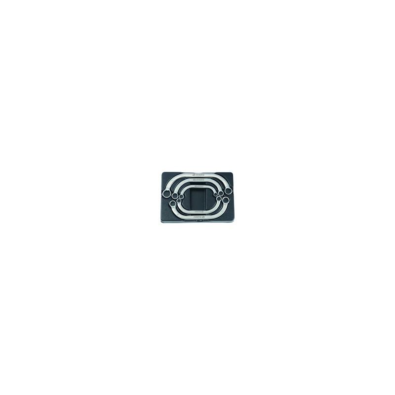 Thermoformé de clé polygonales demi-lune - 5 pièces