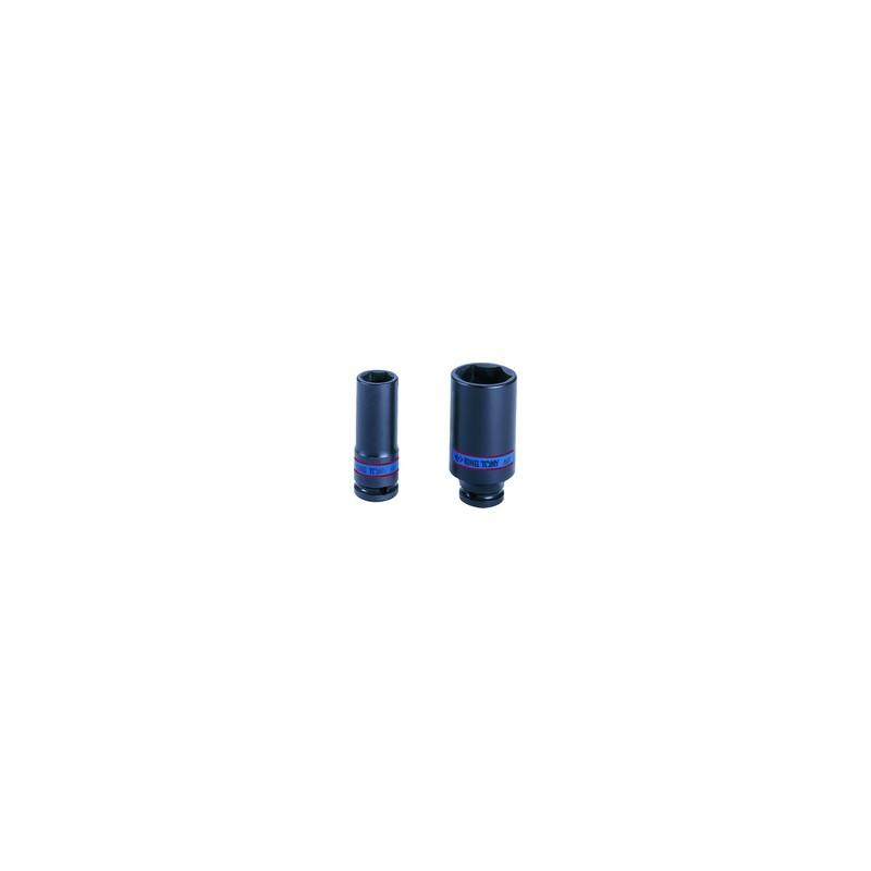 """Douille à chocs Métrique 1/2"""" (12,,7mm) Longue 32 mm"""