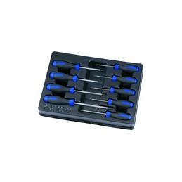 Thermoformé de tournevis RESISTORX - 9 pièces