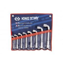Trousse de clés à pipe métriques - 8 pièces