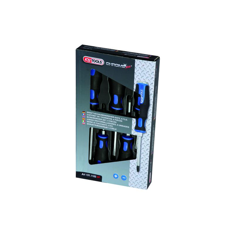 Tournevis ergotorque max plat pz (boite de 6)