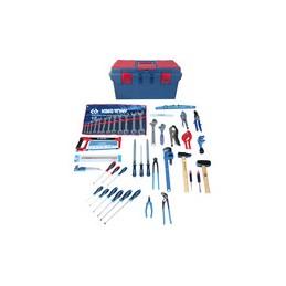 Caisse à outils Plomberie-Sanitaire - 61 pièces