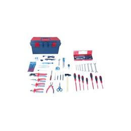 Caisse à outils Electrité - Electromécanique - 97 pièces