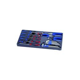 Thermoformé de clés mâles métriques et pouces,, tournevis,, pinces -