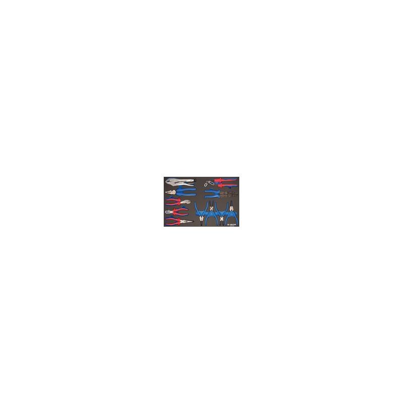 Plateau EVAWAVE de pinces - 11 pièces