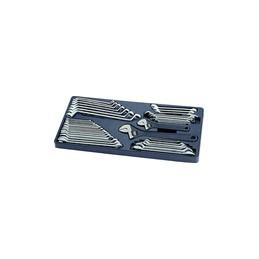 Thermoformé de clés métriques et pouces - 38 pièces