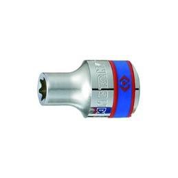 """Douille Pour vis mâles Torx 1/2"""" (12,,7mm) Standard E24"""