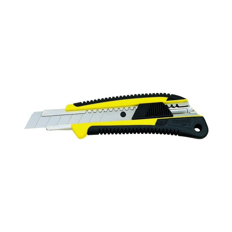 Cutter grip antiderapant 18mm verrouillage automatique