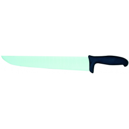 Couteau coupe choux ac.carbone 350mm  m.polyp