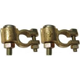 Cosses pl dble serrage +/-95mm² foca (boite x2)
