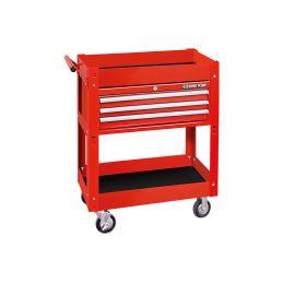 Chariot d'atelier 2 étages avec coffre 3 tiroirs 874413B