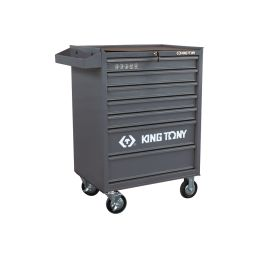 Servante d'atelier Pro 7 tiroirs - grise ST874347BPG KingTony