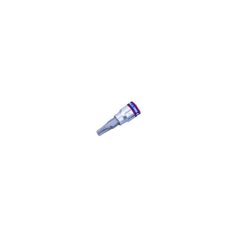 """Douille Tournevis RESISTORX  1/4"""" (6.35mm) Longueur 37mm 2037"""