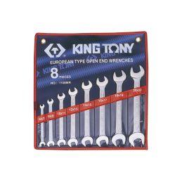 Trousse de clés fourches métriques King Tony
