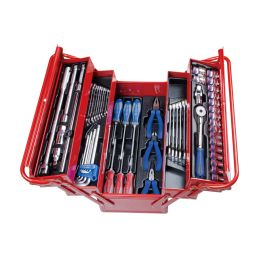 Caisse à outils complète - 63 pièces