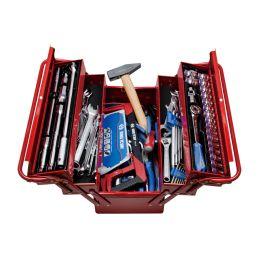 Caisse à outils complète - 89 pièces