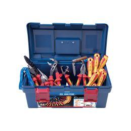 Caisse à outils Electicité - 21 pièces