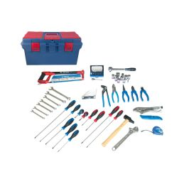 Caisse à outils Electrité - Electromécanique - 67 pièces
