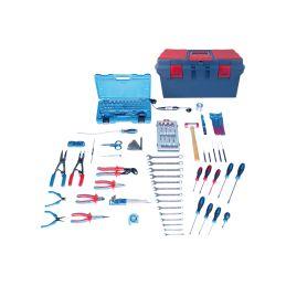 Caisse à outils Electrité-Electromécanique - 147 pièces