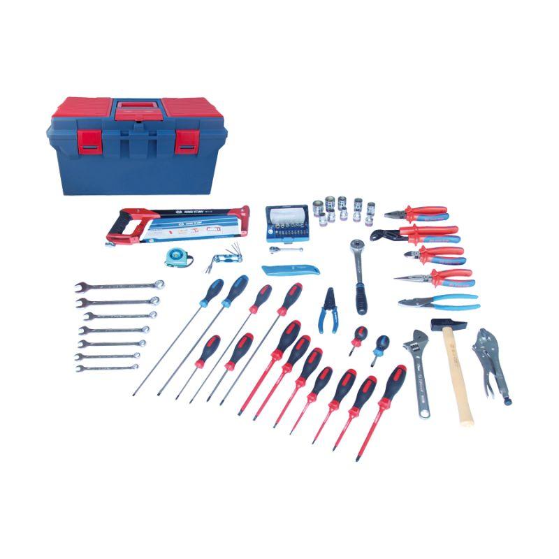 Caisse à outils Electrité-Electromécanique - 70 pièces