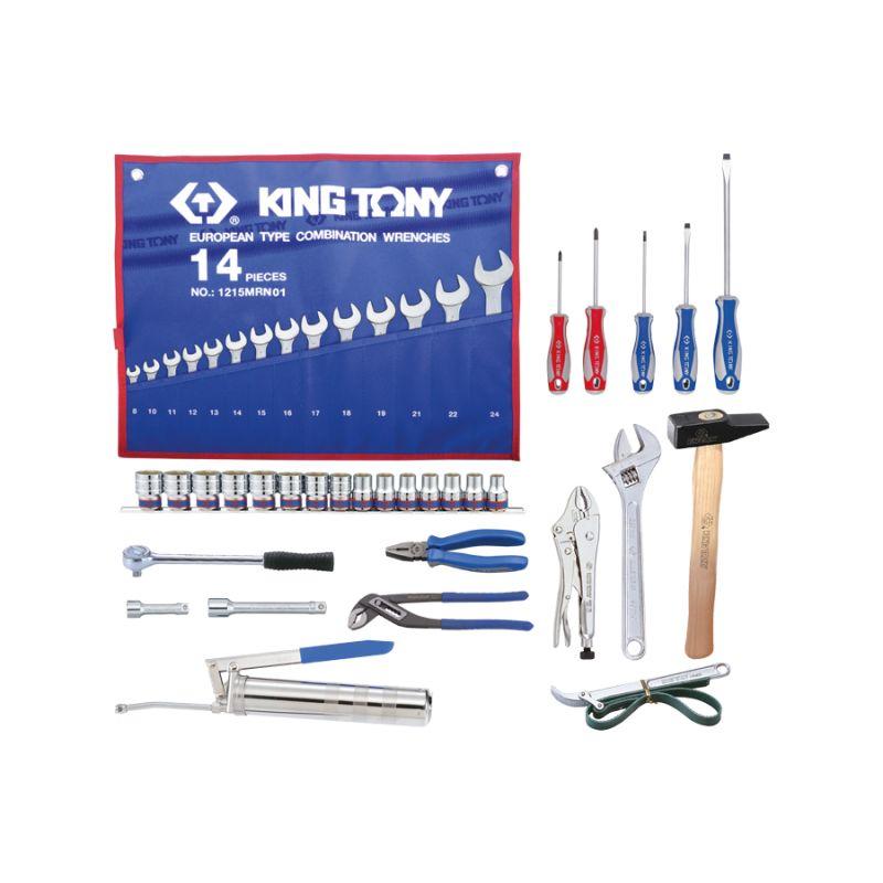 Sélection de 45 outils pour caisse