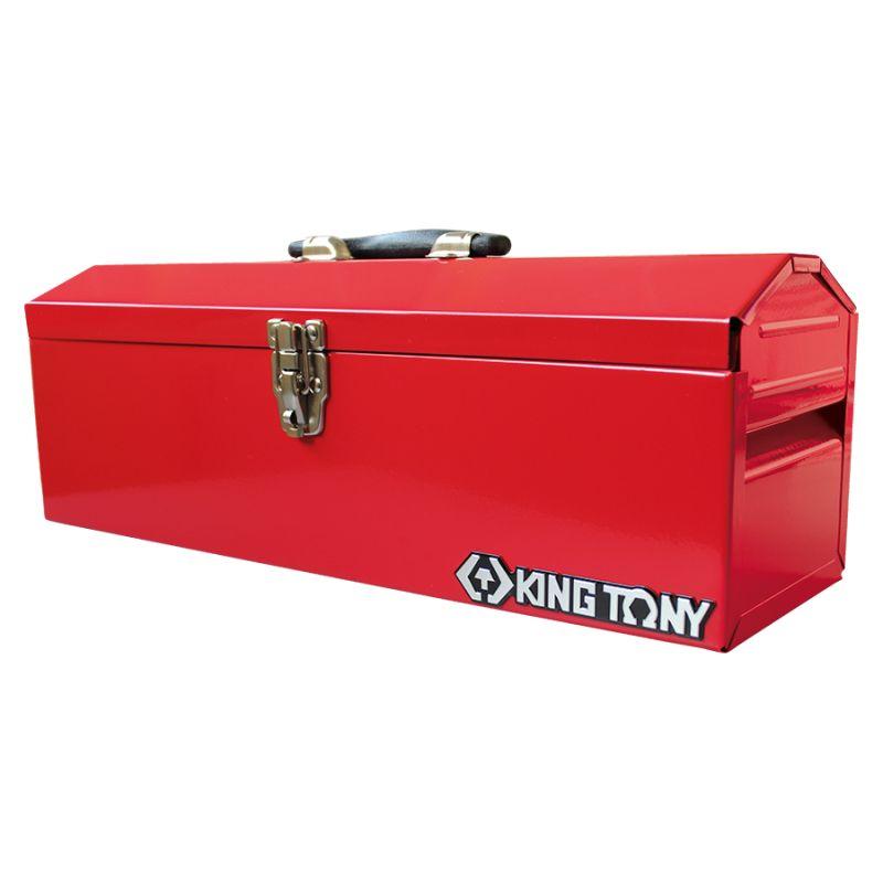Caisse à outils métallique - 1 compartiment avec plateau