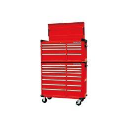 Etabli mobile d'atelier - 11 tiroirs